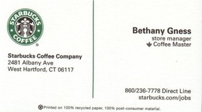 Click to see Starbucks Coffee Company Details