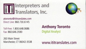 Click to see Interpreters and Translators, Inc. Details